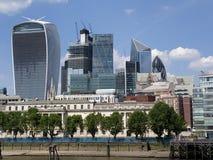Uma vista de Londres foto de stock royalty free