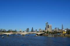 Uma vista de Londres central em um dia ensolarado Fotografia de Stock