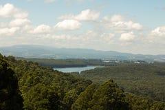 Uma vista de Mt Dandenong Foto de Stock Royalty Free