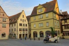 Uma vista de Rothenburg, Alemanha Foto de Stock