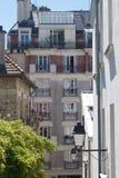 Uma vista de um apartamento em França foto de stock royalty free