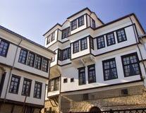 Uma vista de uma casa tradicional foto de stock royalty free
