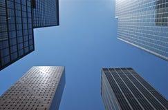 Uma vista do arranha-céus alto em New York. Imagem de Stock Royalty Free