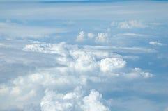 Uma vista do céu imagens de stock royalty free