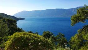 Uma vista do golfo de Gokova video estoque
