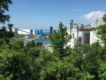 Uma vista do lago por Goderich Ontário Canadá Imagens de Stock Royalty Free