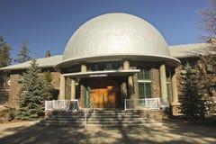 Uma vista do museu Rotunda de Slipher fotografia de stock royalty free