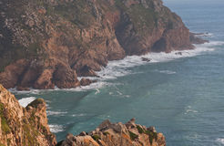 Uma vista do Oceano Atlântico Imagem de Stock