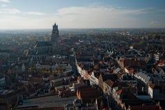 Uma vista em Bruges Imagens de Stock