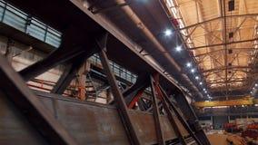 Uma vista geral de uma planta industrial grande filme