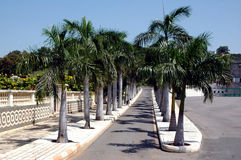 Uma vista na cidade da película de Ramoji - hyderabad Imagens de Stock