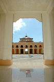 Uma vista na mesquita Baitul Izzah Imagem de Stock