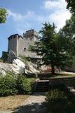 Uma vista na rua de San Marino Fotos de Stock Royalty Free