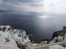 Uma vista no mar imagem de stock royalty free