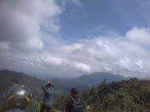 Uma vista no salak Aceh norte da montagem fotos de stock