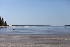 Uma vista para o mar Imagens de Stock