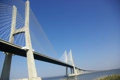 Uma vista sobre a ponte Foto de Stock