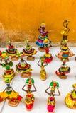 Uma vista típica de Cartagena Colômbia foto de stock royalty free