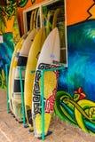 Uma vista típica em Bocas Del Toro em Panamá fotos de stock