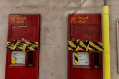 Uma vista típica em Londres imagens de stock royalty free