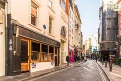 Uma vista típica em Londres fotos de stock royalty free