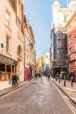 Uma vista típica em Londres foto de stock