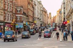 Uma vista típica em Londres fotos de stock
