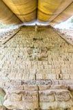 Uma vista típica em ruínas de Copan nas Honduras foto de stock