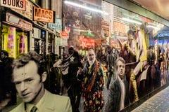 Uma vista típica em Soho Londres Fotografia de Stock