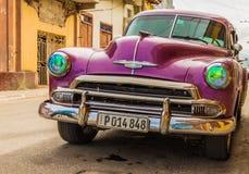 Uma vista típica em Trinidad em Cuba imagem de stock