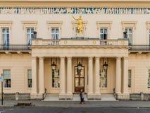 Uma vista típica em Westminster em Londres fotografia de stock