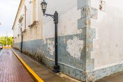 Uma vista típica na Cidade do Panamá em Panamá imagem de stock royalty free