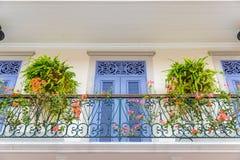 Uma vista típica na Cidade do Panamá em Panamá fotos de stock royalty free