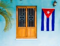 Uma vista típica no vale de Vinales em Cuba imagens de stock