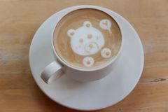 Uma xícara de café fotografia de stock