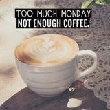Uma xícara de café Fotos de Stock