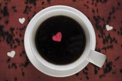 Uma xícara de café Fotografia de Stock Royalty Free
