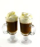uma xícara de café fresca foto de stock