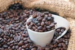Uma xícara de café roasted Imagens de Stock Royalty Free