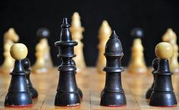Uma xadrez velha. Foto de Stock Royalty Free