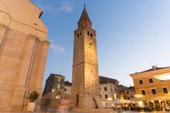 Umag, cidade na Croácia foto de stock