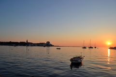 Umag, Croatie Photographie stock