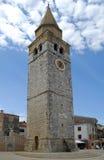 Umag Glockenturm lizenzfreies stockfoto