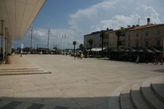 Umag historic square Stock Photography