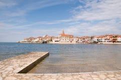 Umag in Kroatien Lizenzfreies Stockbild