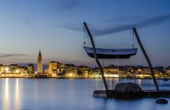 Umag By The Night Stock Images