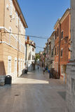 Umag street Royalty Free Stock Images