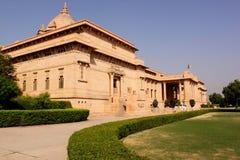 Umaid Bhawan宫殿Taj旅馆乔德普尔城拉贾斯坦印度 图库摄影