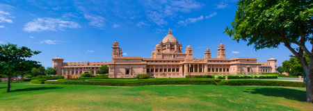 Umaid Bhawan palace hotel in Jodhpur Stock Photography