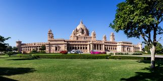Umaid Bhawan Palace Stock Images